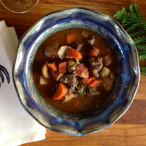 Slow-Cooked Beef Stew with Winter Vegetables