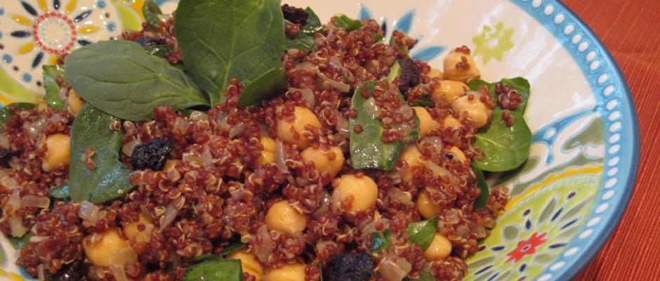 cherry almond quinoa ok here it is one of the tastiest quinoa recipes