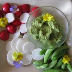 Pea Avocado Hummus