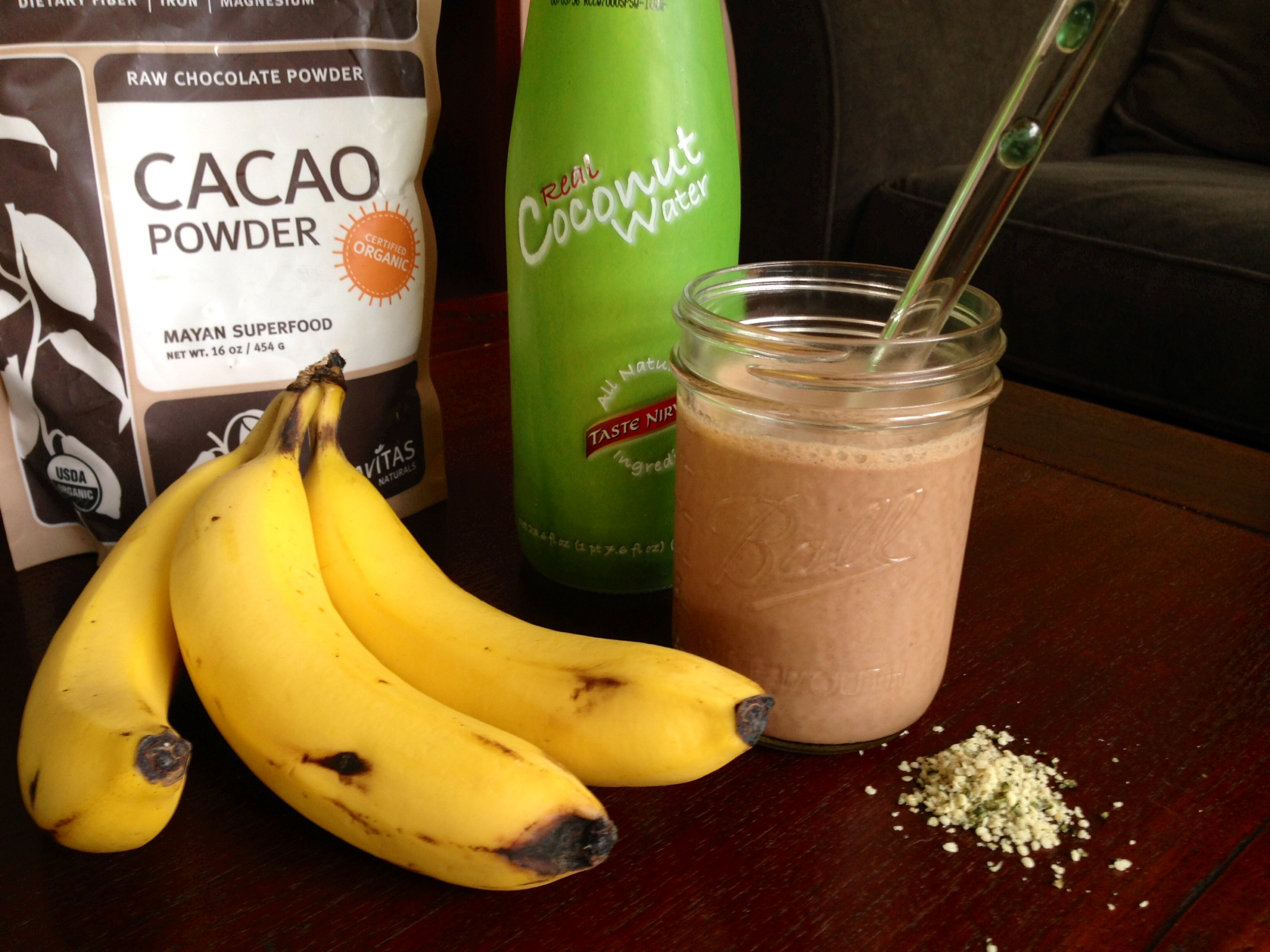 Guilt-Free (Get-Up-and-Go) Chocolate Smoothie
