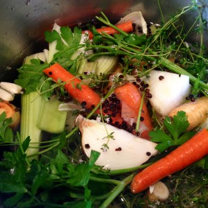 Basic Vegetable Broth