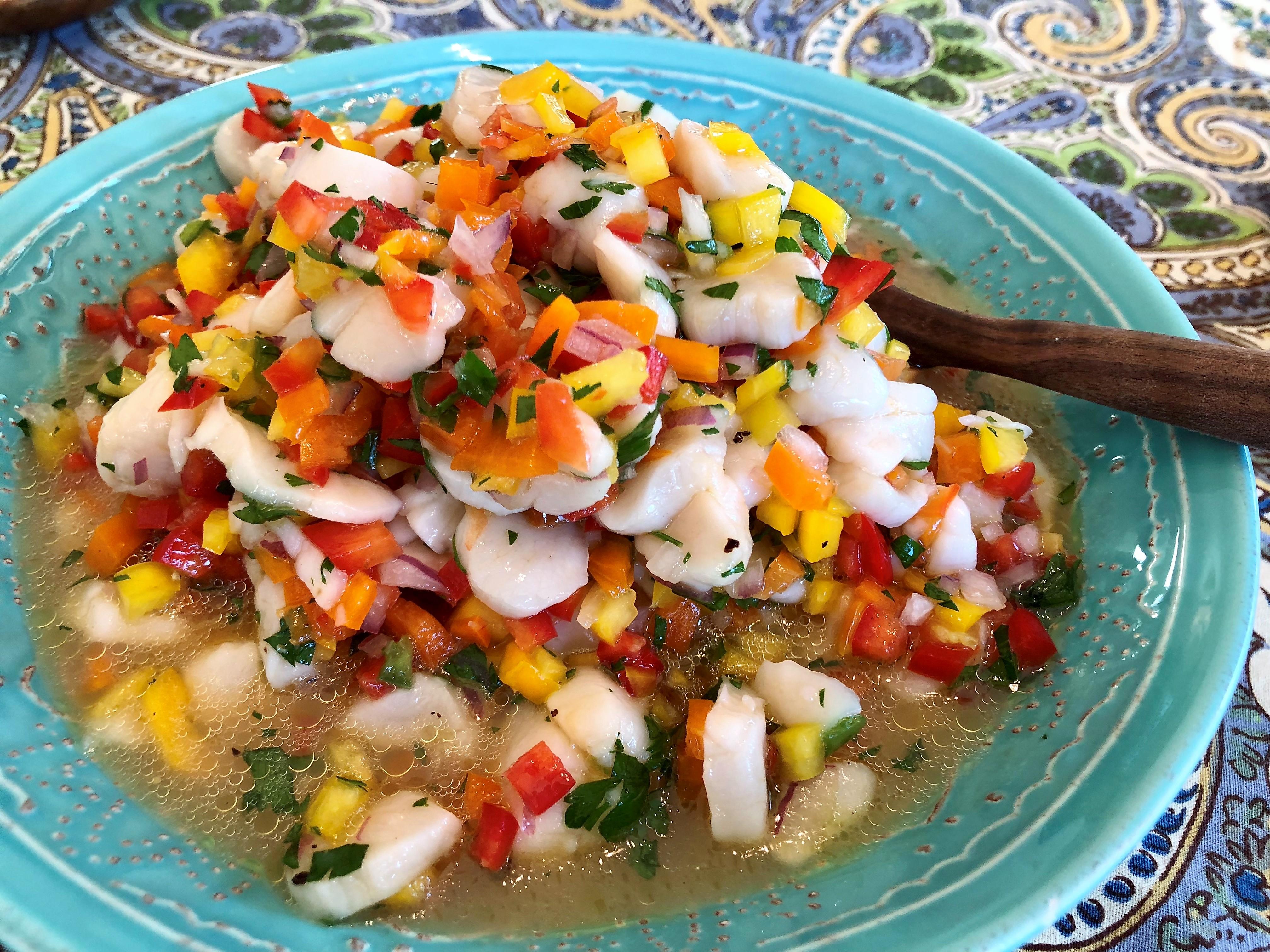 Scallop Ceviche