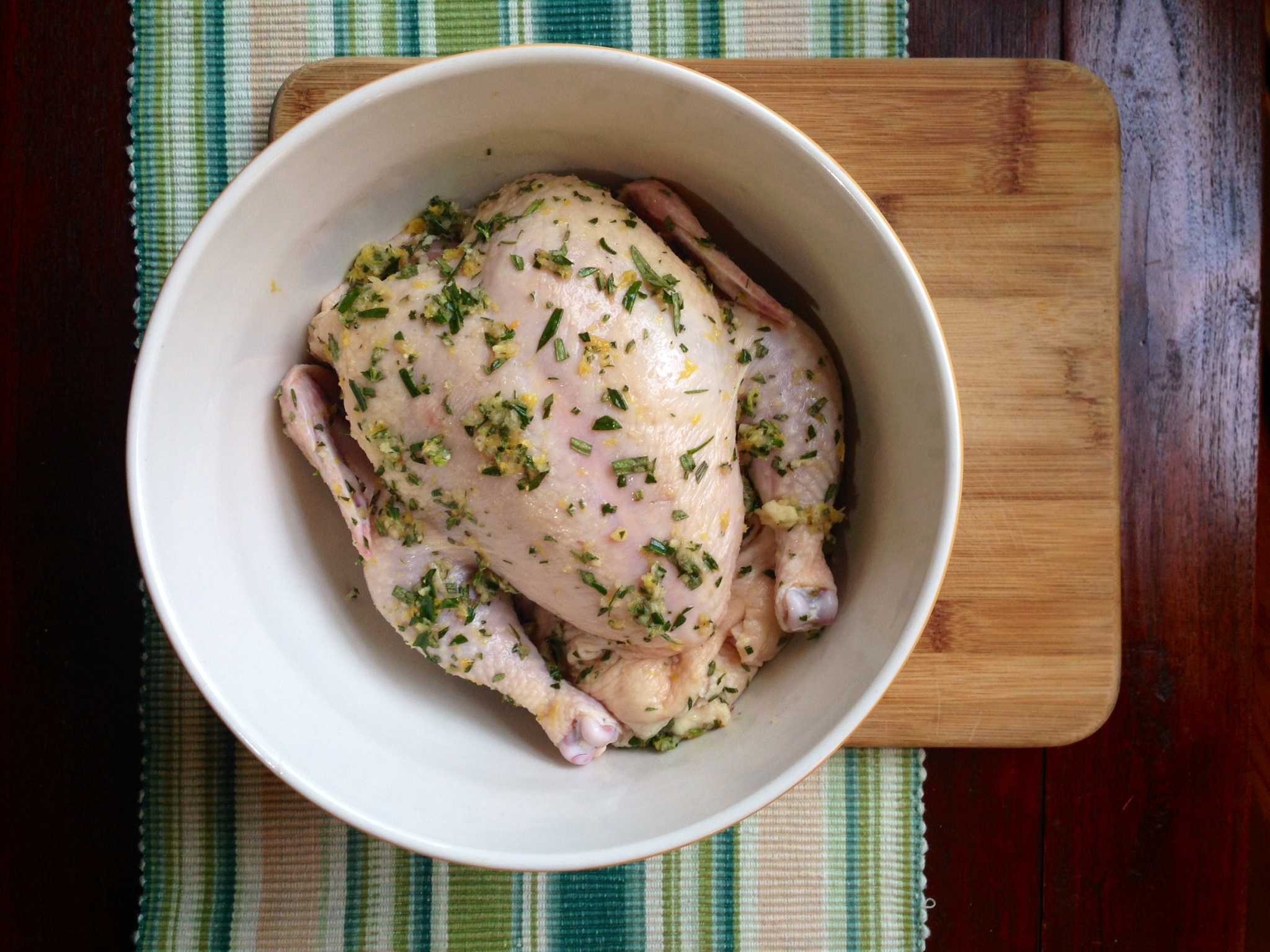 Dry-Brined Roast Chicken