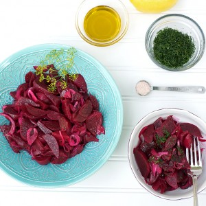 Beet Salad with Dill and Lemon