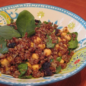 Cherry Almond Quinoa