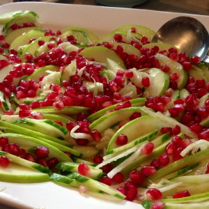 Fennel, Pomegranate & Granny Smith Salad