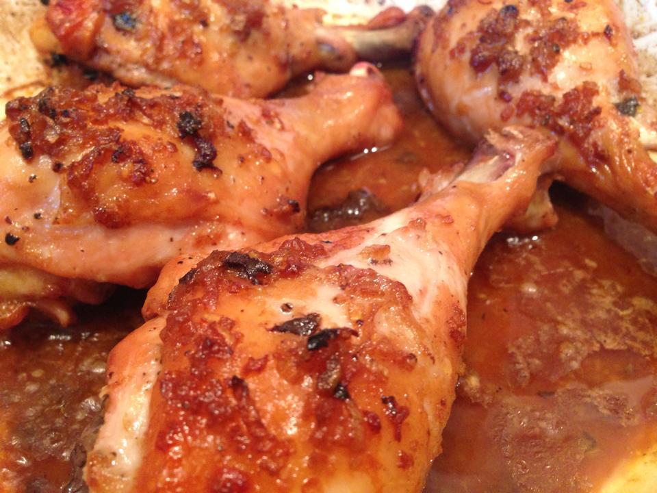 Finger Lickin' Roast Chicken