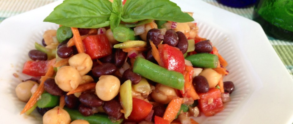 Flavor Bomb Three Bean Salad