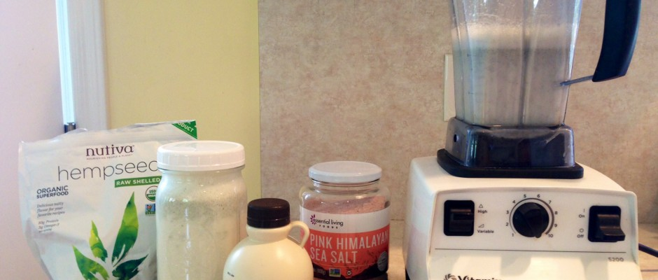 Homemade Hemp Milk