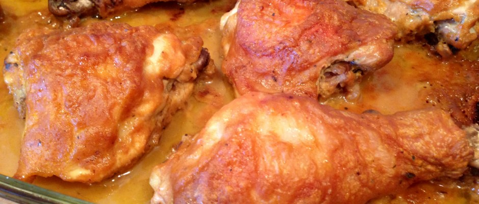 Roasted Dijon Maple Chicken