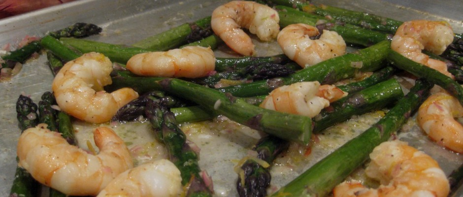 Oven-Roasted Shrimp & Asparagus