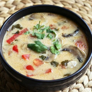 Tom Kha Gai Soup (Hot & Sour Soup)
