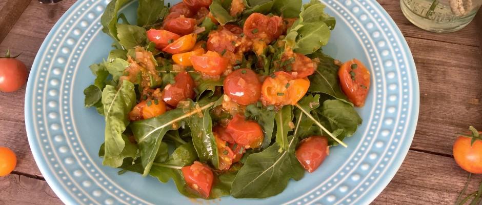 Cherry Tomato Vinaigrette